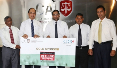 CDB renews support for CA Sri Lanka's 35th National Conference of Chartered Accountants