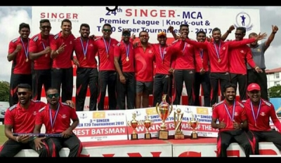 Commercial Credit in thrilling 05 wicket win over MAS Unichela in Singer - MCA Premier League