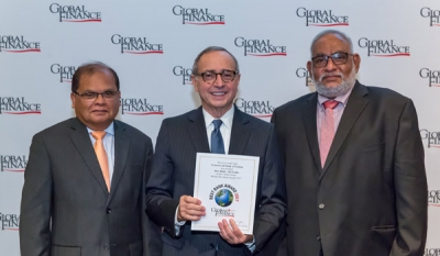 COMBANK receives 18th Best Bank award from Global Finance
