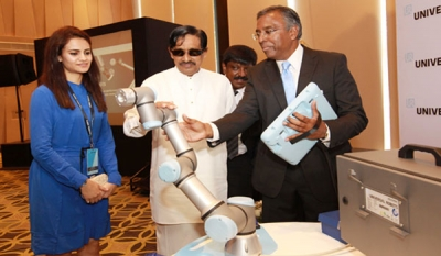 Universal Robots A/S Denmark, Inventors of Collaborative Robots, launches in Sri Lanka