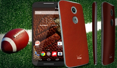 'Football Leather' Moto X (2014) now out at Verizon