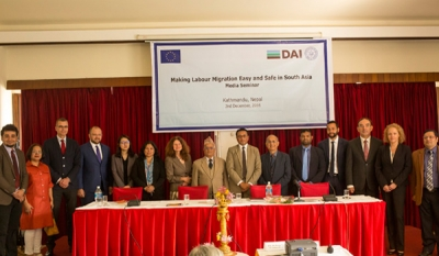 EU Regional Seminar to Facilitate Safer Migration in South Asia