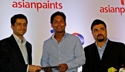 Asian Paints and Kumar Sangakkara in milestone brand partnership