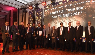 JF Packaging 'Most Awarded Flexible Packaging Company' at Lanka Star/Asian Star Awards