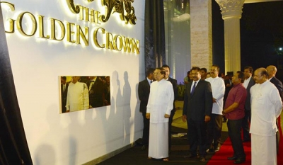 President declares open the 'Jewel in Kandy's Crown – The Golden Crown Hotel (13 photos)