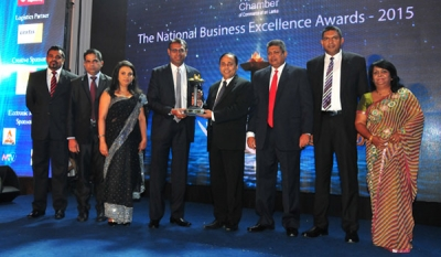 Lankasoy Clinches Gold Again at National Business Excellence Awards 2015