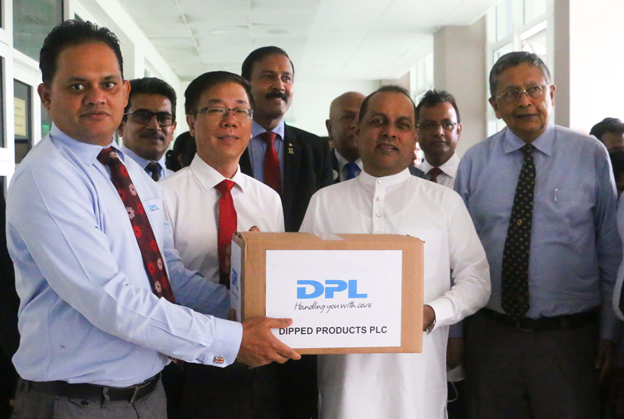 DPL continues environmental conservation efforts with donation of gloves to MEPA