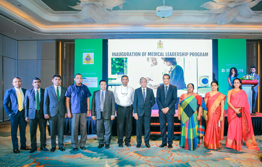 Businesscafe B. Braun Lanka partners with The Ministry of Health for Lead the Way Medical Leadership Program in Sri Lanka