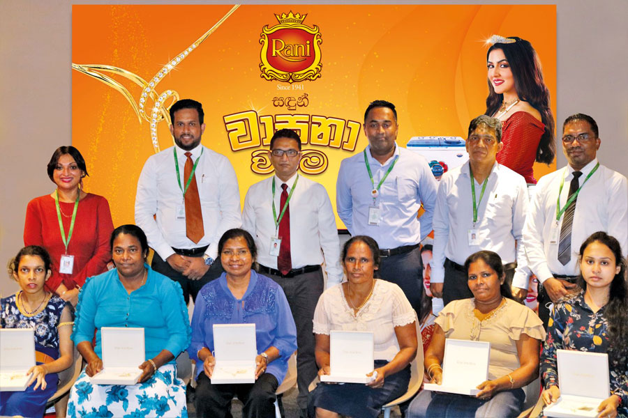 businesscafe Sri Lanka heritage personal care brand Rani Sandalwood rewards winners with Rani Sandun Wasana Warama