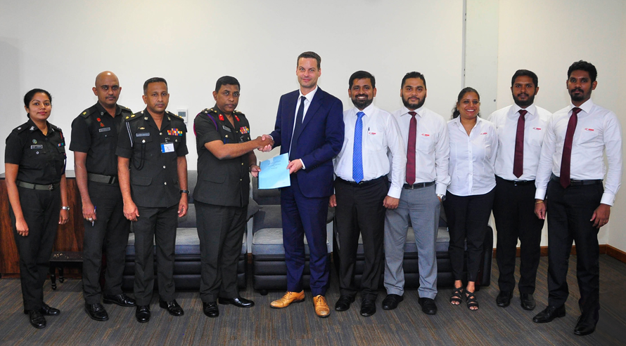 INSEE Cement Expresses Gratitude to Sri Lanka Military Frontliners