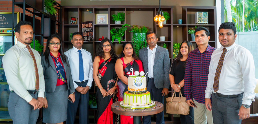 Home Lands group celebrating with 100 reservations within the last 50 days post pandemic