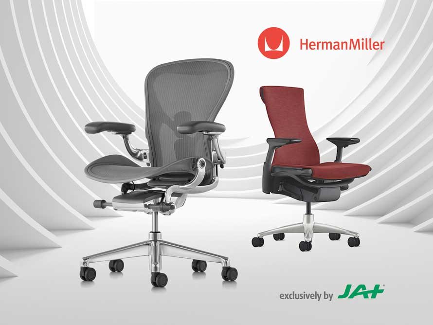 Improved health and wellbeing with Herman Miller by JAT Holdings