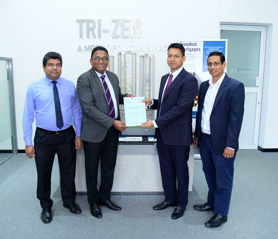 TRI ZEN smart homes to be powered by SLT and JKIT