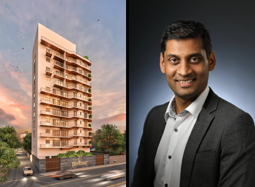 The Flemington Celebrates of developing condominiums in Sri Lanka