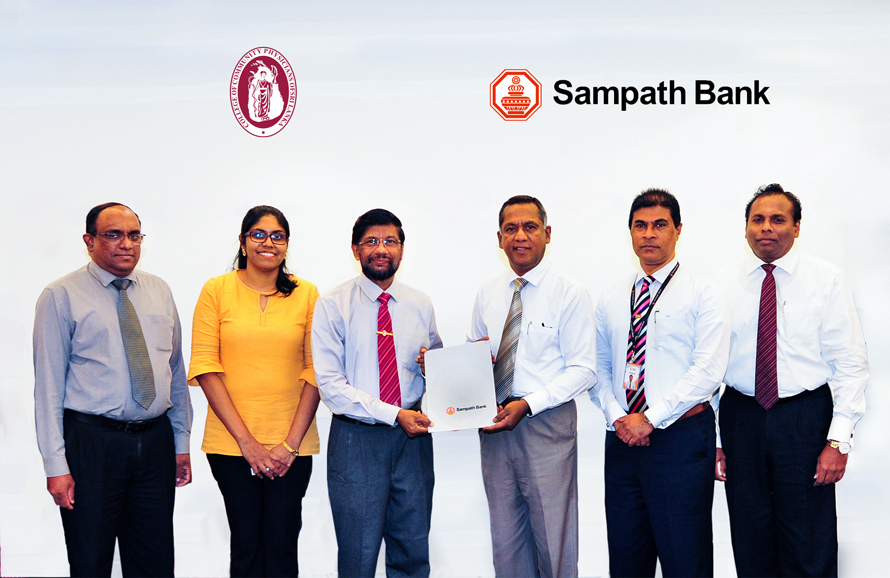 Sampath Bank Supports Medical Research with Special Loan
