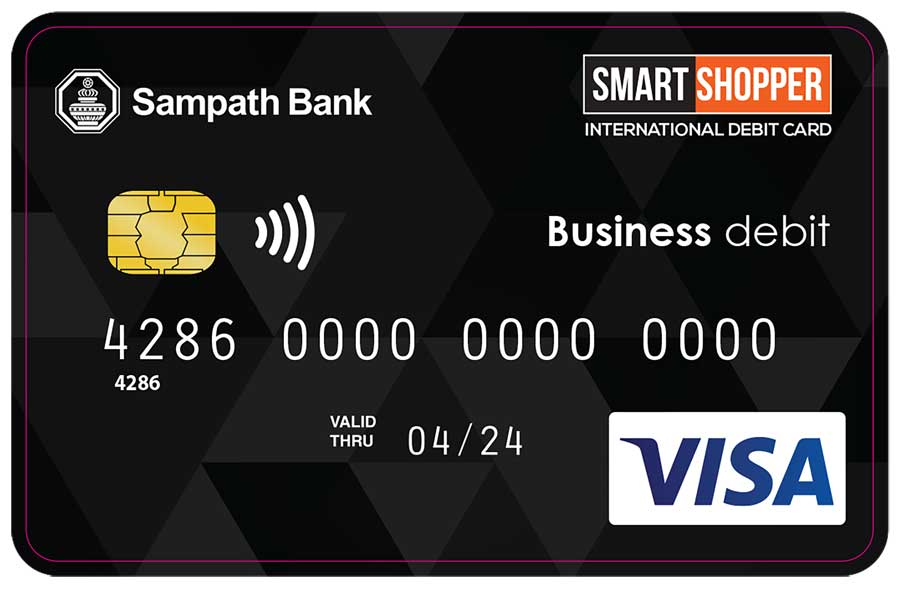 businesscafe Sampath Bank Further Simplifies Cash Management for Businesses with Launch of Visa Business Debit Card