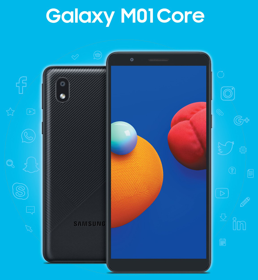 Samsung Galaxy M01 Core Smartest Choice for your budget