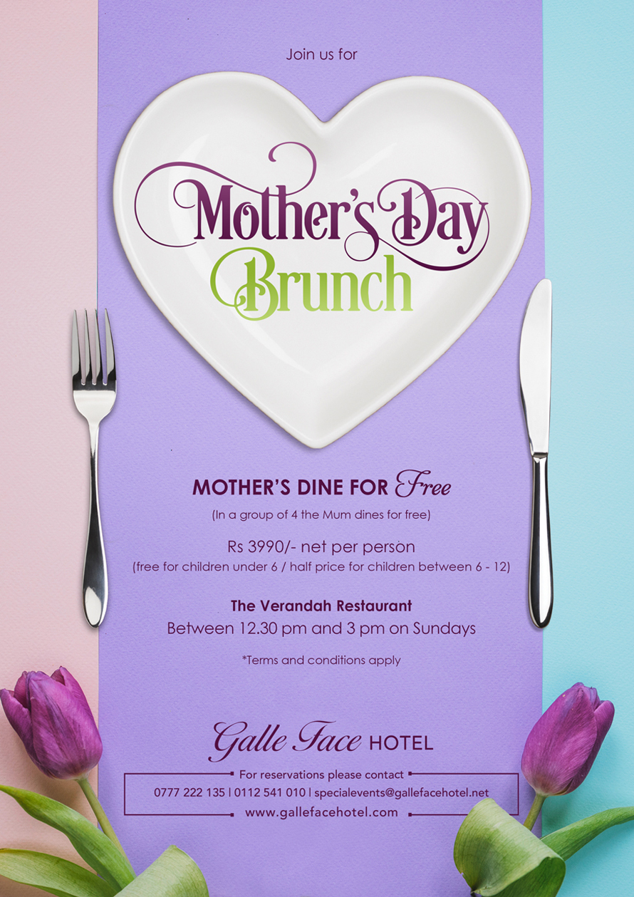 Mothers Dine for Free this Sunday at the Galle Face Hotel image