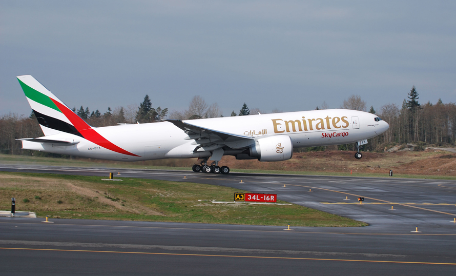 Emirates SkyCargo keeps the world connected with over 10000 flights in 3 months