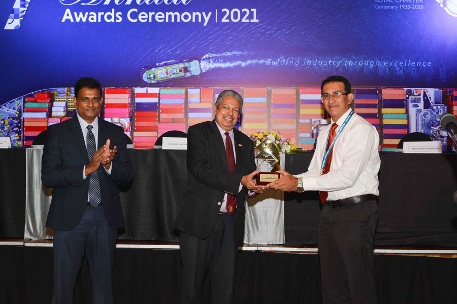 Businesscafe Spectra named Best Container Depot for Import and Export at ICS ACDO Awards 2020
