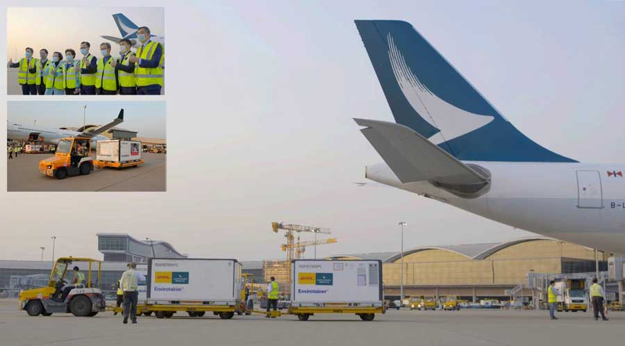 businesscafe Cathay Pacific Delivers First Vaccine Shipment to Hong Kong