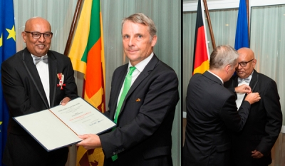 DIMO Chairman receives Germany's Highest Tribute