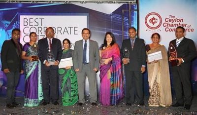 HNB sweeps CCC Best Corporate Citizen Awards with 5 awards for sustainability