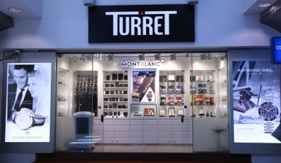 Turret showcases luxury products for the discerning
