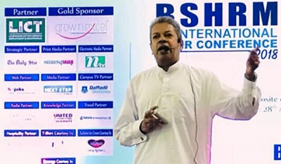 IPM SL President Addresses Bangladesh HR Conference 2018 as Keynote Speaker
