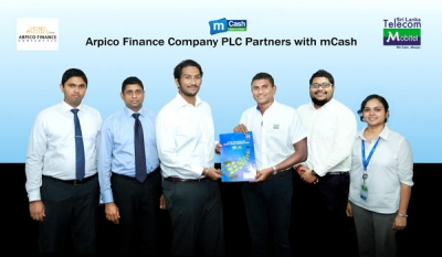 Arpico Finance Company PLC partners with mCash to offer Digitalized Payments