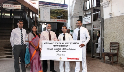 Fashion Bug Completes Phase 2 of Sri Lanka Railways CSR Project