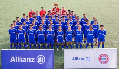Allianz Explorer Camp Football Edition Asia 2019 brings together talented young athletes
