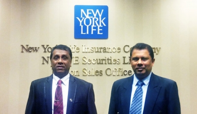 Ceylinco Life sends two DGMs for training at USA's New York Life
