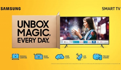 Singer partners Samsung in redefining 'SMART TV' with the launch of Unbox Magic Series