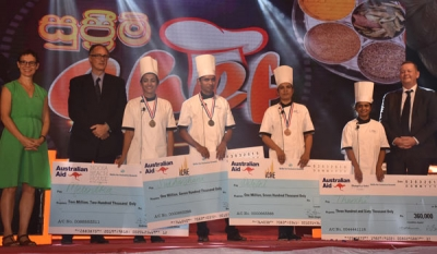 'Supreme Chef' Winners off to Australia for Industrial Training