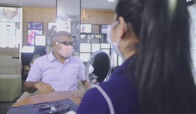 Vision Care assures highest standards of safety and hygiene for customers at all outlets