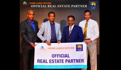 Home Lands Skyline Official Real Estate Partner of Sri Lanka Cricket