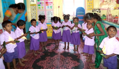 Child Development Officers boost childcare standards in plantations