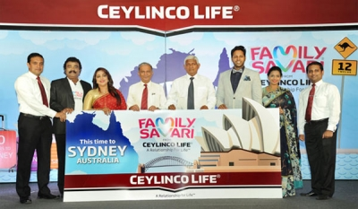 Ceylinco Life's Family Savari to go Down Under in just-launched 12th edition