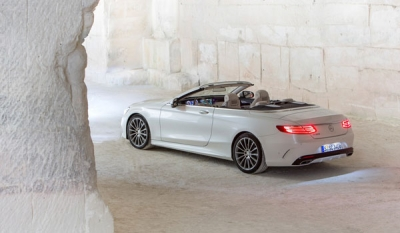 Open top luxury for the elite. Introducing the all new S-Class Cabriolet ( Video )