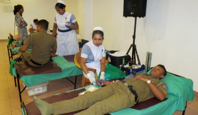 Wellawatte Nithyakalyani Jewellery and Rotary Club of Colombo East  blood donation drive a success