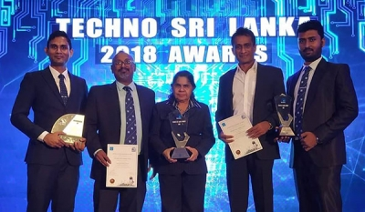 JLanka Technologies claims yet Another Duo of Awards at Techno Sri Lanka 2018