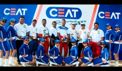 CEAT Racing booms at Gunners' Supercross with 16 podium finishes