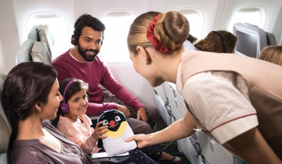 Treasure trove of on-board delights adds to kids' travel experience on Emirates