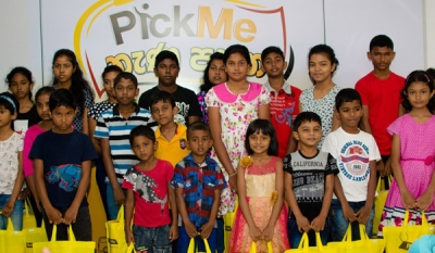 PickMe rewards top drivers' children with school supplies for the New Year