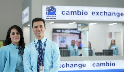 Global Exchange extends currency services at Brasilia and Natal airports