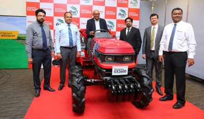 "Mahindra launches the ""made in Japan"" GX 3600 tractor, from the portfolio of Mitsubishi Mahindra Agricultural Machinery Co. Ltd, in Sri Lanka (08 photos)"