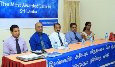 Commercial Bank conducts financial literacy programmes in North