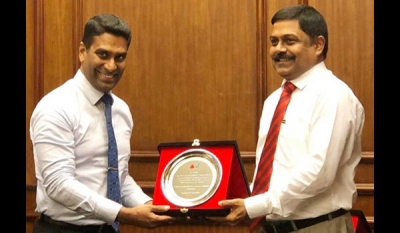 Association of Professional Bankers felicitates Combank's new Managing Director S. Renganathan