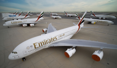 Emirates protects and prepares its all wide-body fleet